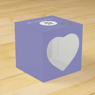 Gray / Grey Clover Ribbon Template Wedding Favour Box