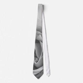 Gray Grey Rose Closeup Tie