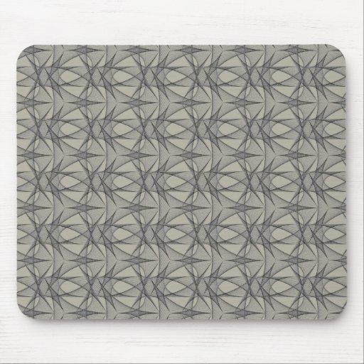 Gray Grids Mousepad