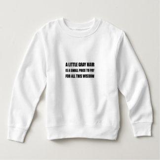 Gray Hair Wisdom Sweatshirt
