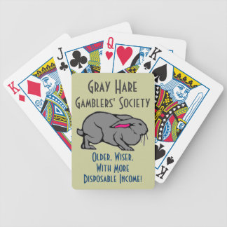 Gray Hare Gamblers Poker Deck