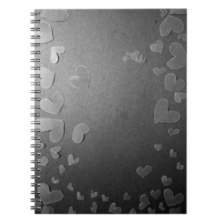 Gray herts <3 notebook