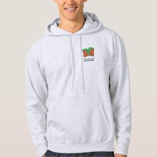 Gray hooded sweatshirt with OFL Logo