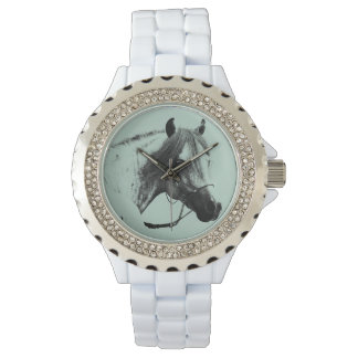 Gray Horse Head Watch
