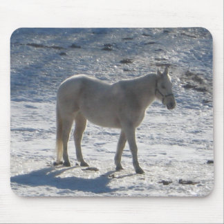 Gray Horse Mousepad