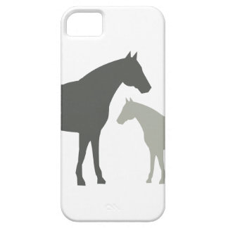 GRAY HORSES by 1201AM iPhone 5 Case iPhone 5 Covers