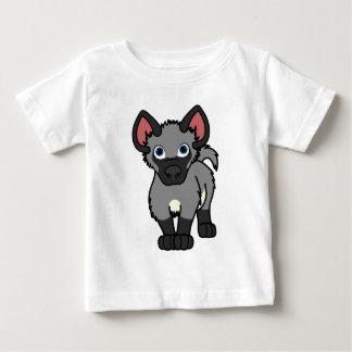 Gray Hyena Cub Baby T-Shirt