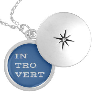 Gray Introvert Necklace