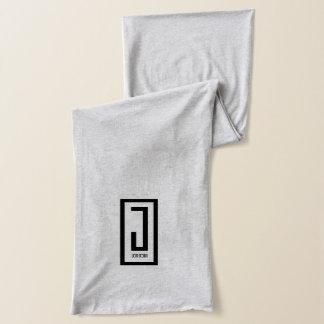 gray j wear design jersey scarf