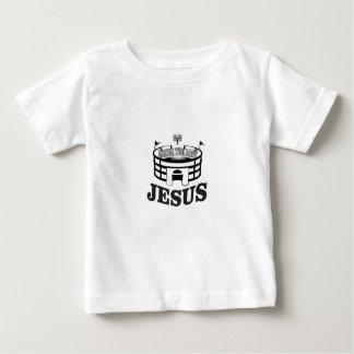 Gray JC raises the roof Baby T-Shirt