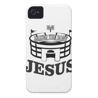 Gray JC raises the roof iPhone 4 Cover