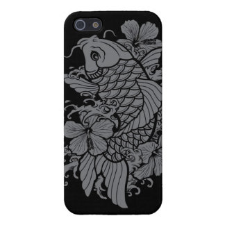 Gray Koi Fish iPhone 5/5S Cover