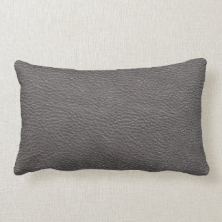 Gray Leather Texture Cushion