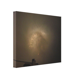 Gray Lights Gallery Wrap Canvas