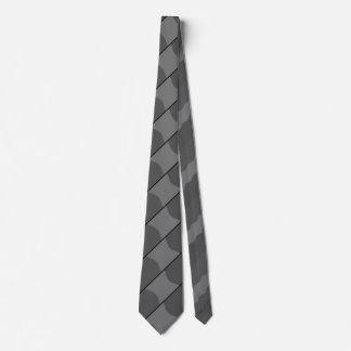 Gray Louvers Tie