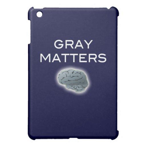 Gray Matters iPad Mini Case