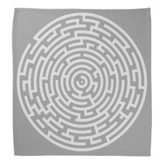 Gray Maze Bandana
