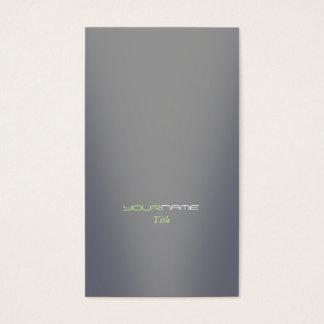Gray Modern Business Card