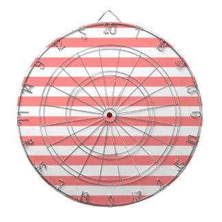 Gray Monogram Square Dart Board