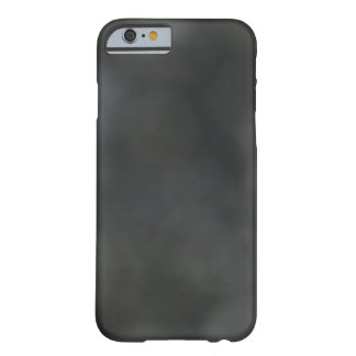 Gray on Black Camouflage Barely There iPhone 6 Case