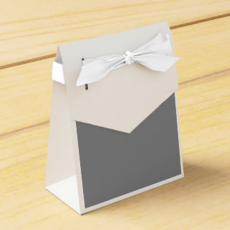 Gray Party Favour Box