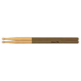 Gray Personalized Drumsticks