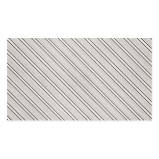 Gray PinStripe Business Card Template