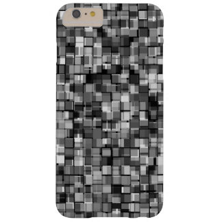 Gray pixels barely there iPhone 6 plus case