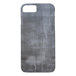 Gray plaster wall iPhone 7 case
