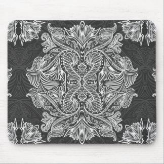 Gray, Raven of mirrors, dreams, bohemian Mouse Pad