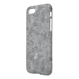 Gray Raw Concrete/Cement Mock-Texture Iphone Case