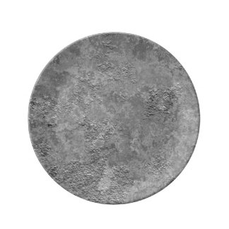 Gray Raw Concrete/Cement Mock-Texture Plate