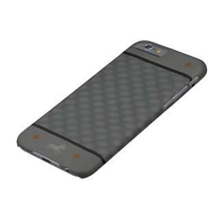 Gray Repeating Background Barely There iPhone 6 Case