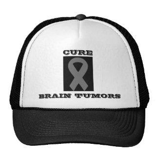 gray ribbon 2, CURE, BRAIN TUMORS Cap
