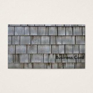 Gray Shingles Business Card