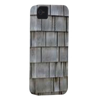 Gray Shingles iPhone 4 Cover