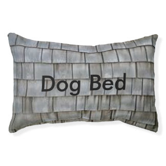 Gray Shingles Pet Bed