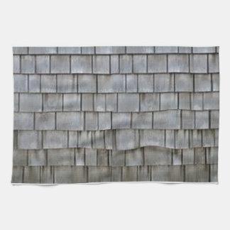 Gray Shingles Tea Towels