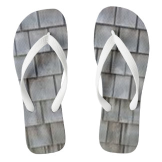 Gray Shingles Thongs