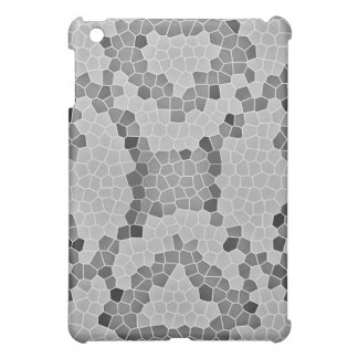 Gray Snakeskin Mosaic iPad Mini Case