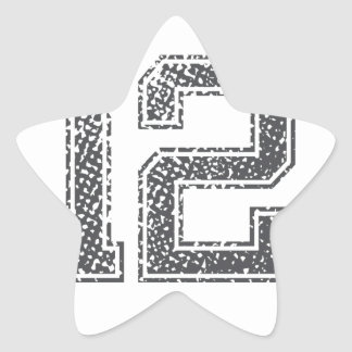 Gray Sports Jersey #12 Star Sticker