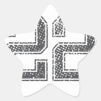 Gray Sports Jersey #22 Star Sticker