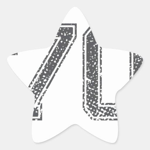 Gray Sports Jersey #70 Sticker