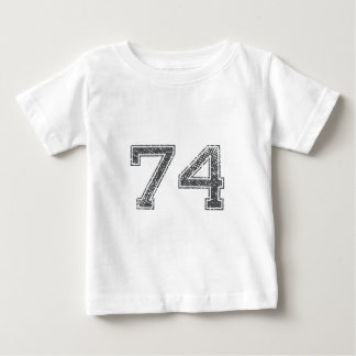 Gray Sports Jersey #74 Tshirts