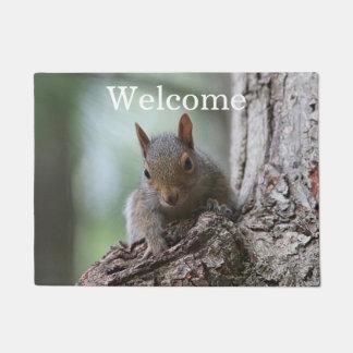 Gray Squirrel Doormat