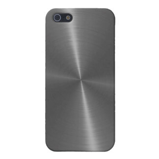 Gray Stainless Steel Metal Case For The iPhone 5