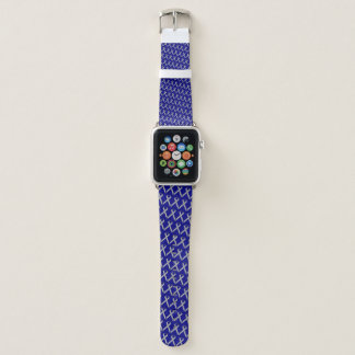 Gray Standard Ribbon by Kenneth Yoncich Apple Watch Band