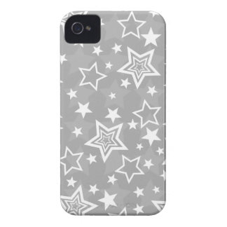 Gray Stars BlackBerry Bold Case