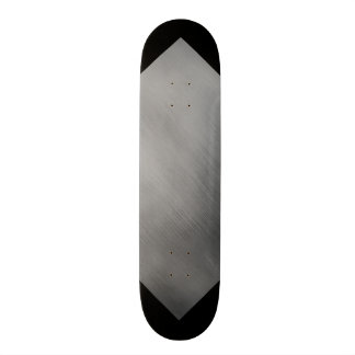 Gray Steel Speed Look Customizable 3 20.6 Cm Skateboard Deck