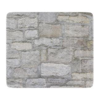 Gray Stone Wall Cutting Board